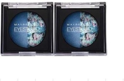 Maybeline New York Studio Baked shadow Duo Pack Navy Narcissist 3 g