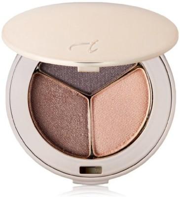 jane iredale PurePressed Eye Shadow Triple, Brown Sugar, 0.10 oz. 2.8 g