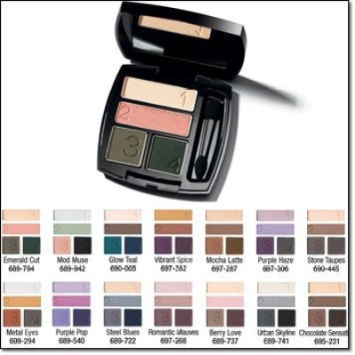 Avon Products, Inc. True Color Technology Eyeshadow Quad 5 g