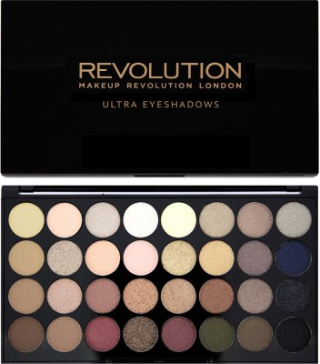 Make Up Revolution London 32 Eyeshadow Palettes Flawless(Pack of 32)