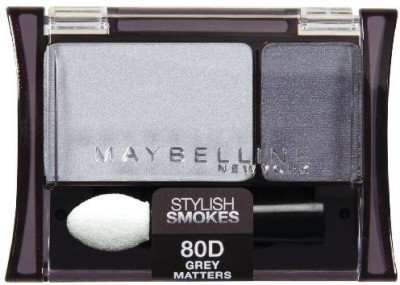 Maybeline New York Expert Wear shadow Duos Grey Matters Stylish Smokes 435EDU-80 2.4 ml