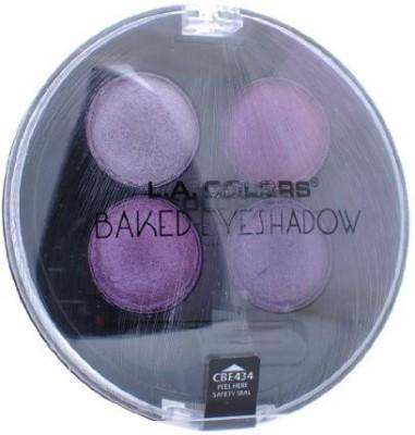 L.A. Colors Brilliant Colors Baked Shadow Palette Venus 3 g(Shadow)