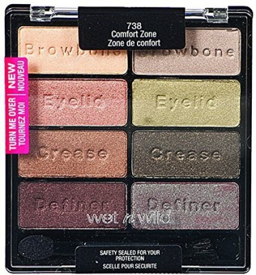 Wet ,n Wild Color Icon shadow Collection ComfortZone 3 g