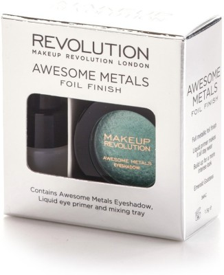 Makeup Revolution London Awesome Metals Eye Foils 1.5 g(Emerald Goddess)