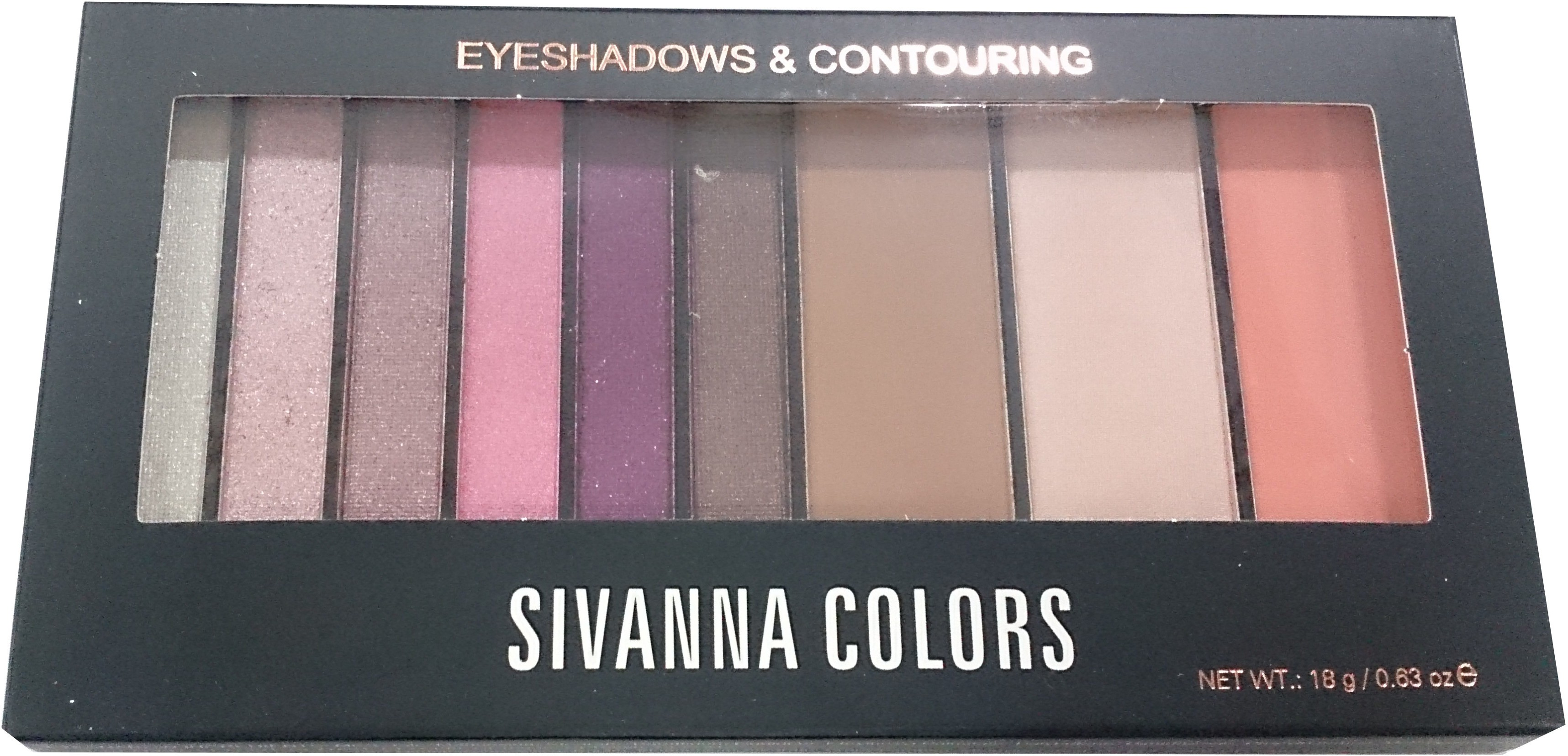 Sivanna Eyeshadows And Contouring 18 g(purple pink 04)