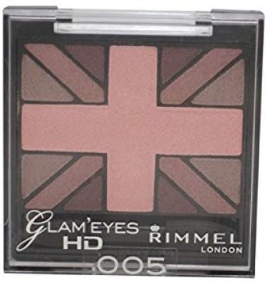 Rimmel Glam Hd Quad Shadow Palette English Rose 5 4.23 ml