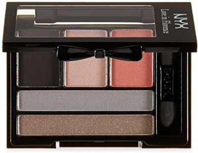 NYX Cosmetics Love In Florence Shadow Palette Ciao Bella 6 ml