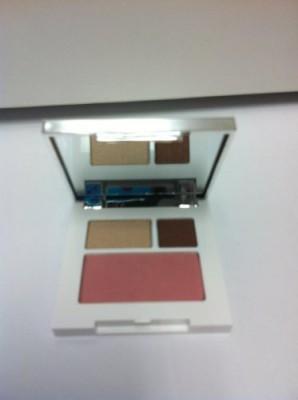 Clinique Colour Surge Shadow Duo Like Mink /G + Powder Cupid 06/ 8G 1.8 ml