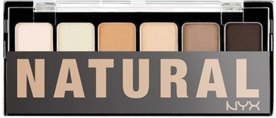 NYX The Natural Shadow Palette 6 g