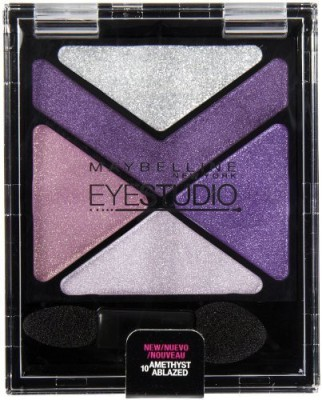 Maybelline New York Eye Studio Color Explosion Luminizing Eyeshadow, Amethyst Ablazed 2.7 ml