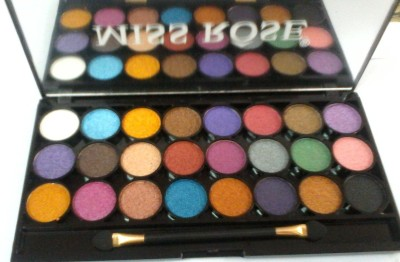 Miss Rose 24-Color Gliter Eye Shadow 29 g