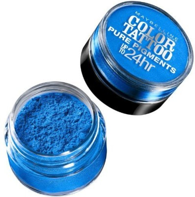 Maybeline New York Studio Color Tattoo Pure Pigments Shadow Brash Blue Pack Of 3 g