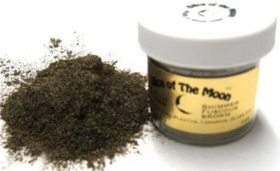 Slice Of The Moon Shimmer Fuscous Brown Mica Powder Metallic Brown Powder Cosmetic Mica 30 ml