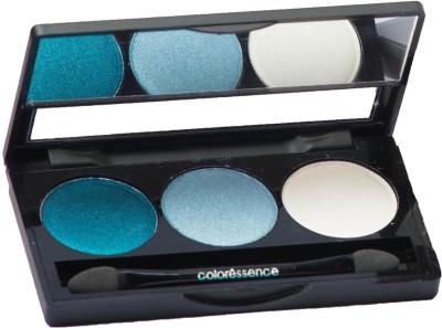 Coloressence Satin Eye Shades Pallete 3 g(Blue Hues)