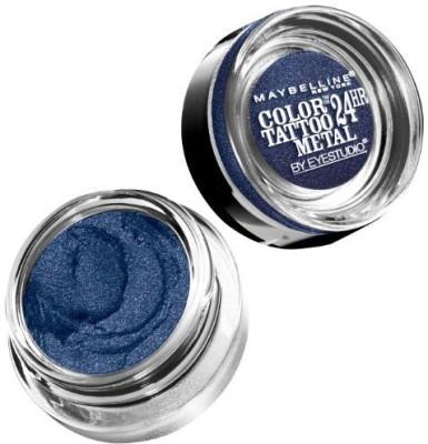 Maybelline Eye Studio Color Tattoo Metal 24 Hour Cream Gel Eyeshadow, Electric Blue 2 g