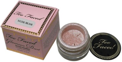 Too Faced Glamour Dust Glitter Pigment Eye Shadow (Nude Beam) 2.8 g