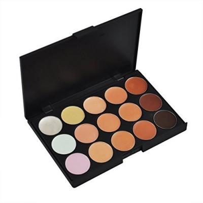 Outop Colors Professional Concealer Camouflage Makeup Palette Contour Face Contouring Kit 3 g