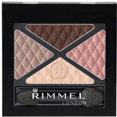 Rimmel Glam Quad Shadow Mayfair 808072390 4.56 ml