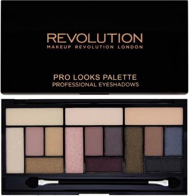 Makeup Revolution London Pro Looks Stripped & Bare Eyeshadow Palette 13 g
