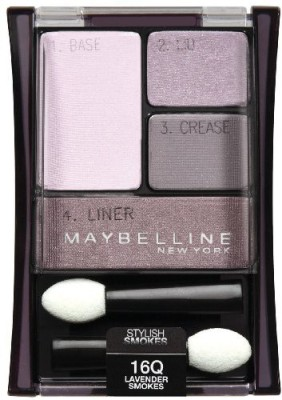 Maybeline New York Expert Wear shadow Quads Lavender Smokes Stylish Smokes 5.1 ml