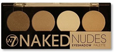 W7 Naked Nudes shadow Palette Neutral Shades NEP 3 g