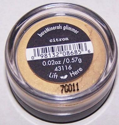 Bare Escentuals Citron Shadow Glimmer 0.57 g