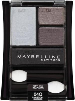 Maybelline Expertwear eyeshadow Quads Stylish Smokes, 04q Charcoal Smokes 3 g