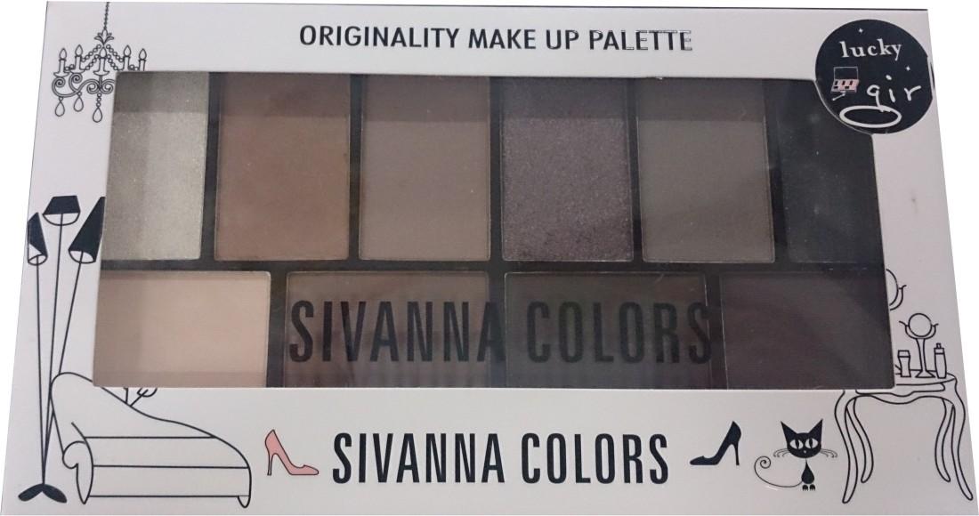 Sivanna Originality make up palette 15 g(BROWNS 01)