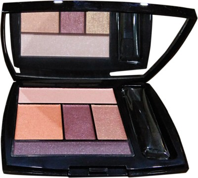 LANCOME Color Design Eye Brightening All in One 5 Shadow & Liner Palette 4 g