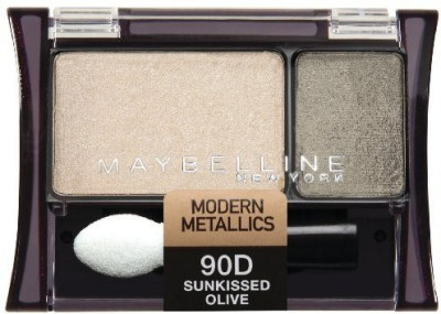 Maybeline New York Expert Wear shadow Duos Sunkissed Olive 41554248135 2.4 ml