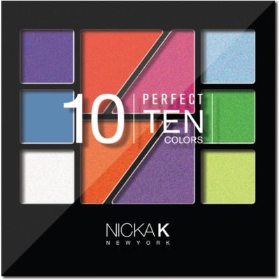 Nicka K Perfect Ten Colors - 1 9 g