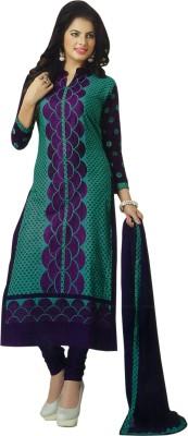 Gulnaaz Cotton Embroidered Salwar Suit Dupatta Material