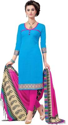Miss Charming Cotton Self Design Salwar Suit Dupatta Material