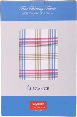 Raymond Home Cotton Checkered Shirt Fabric