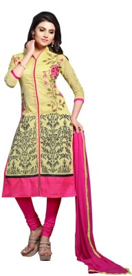 Shree Vardhman Silk Embroidered Salwar Suit Dupatta Material