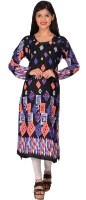 Nakoda Creation Rayon Printed Kurti Fabric(Un-stitched) at flipkart