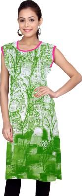 Kurti Studio Cotton Floral Print Kurta Fabric, Kurti Fabric(Un-stitched)