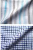 Azed Cotton Linen Blend Striped Shirt Fa...