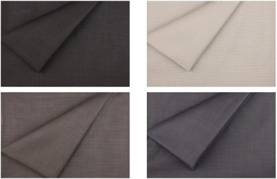 Sahyog Gwalior Synthetic Solid Trouser Fabric, Shirt & Trouser Fabric(Un-stitched)