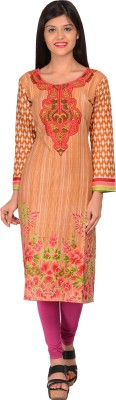 Nakoda Creation Cotton Printed Kurti Fabric(Un-stitched) at flipkart
