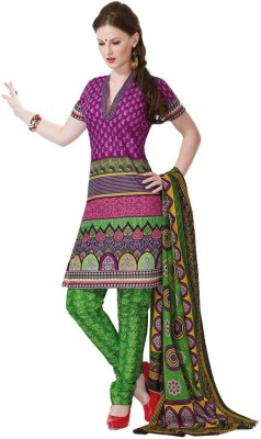 Manshvi Fashion Cotton Printed Salwar Suit Dupatta Material