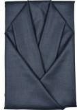 Men In Black Cotton Polyester Blend Soli...