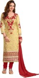 Khushali Cotton Self Design Salwar Suit ...