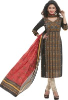 Pari Women's Clothing - Pari Cotton Printed Salwar Suit Dupatta Material(Un-stitched)