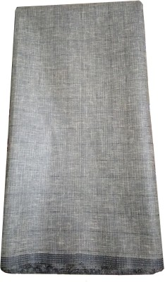 AminQuest Cotton Polyester Blend Self Design Shirt Fabric(Un-stitched)