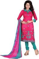 Shree Vardhman Cotton Silk Blend Embroidered Salwar Suit Dupatta Material best price on Flipkart @ Rs. 749