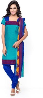 Swaron Cotton Printed Salwar Suit Dupatta Material(Un-stitched) at flipkart
