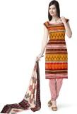 Panna Satin Printed Salwar Suit Dupatta ...