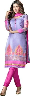 Diva Divine Chanderi Solid Salwar Suit Dupatta Material