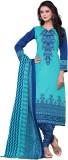Wedding Villa Cotton Printed Salwar Suit...